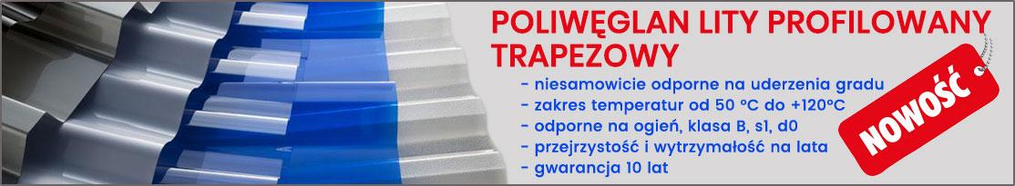 poliwęglan lity profilowany kraków tplast